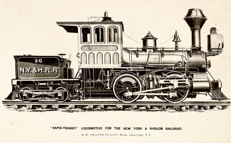 """A """"rapid transit"""" locomotive for the route"""