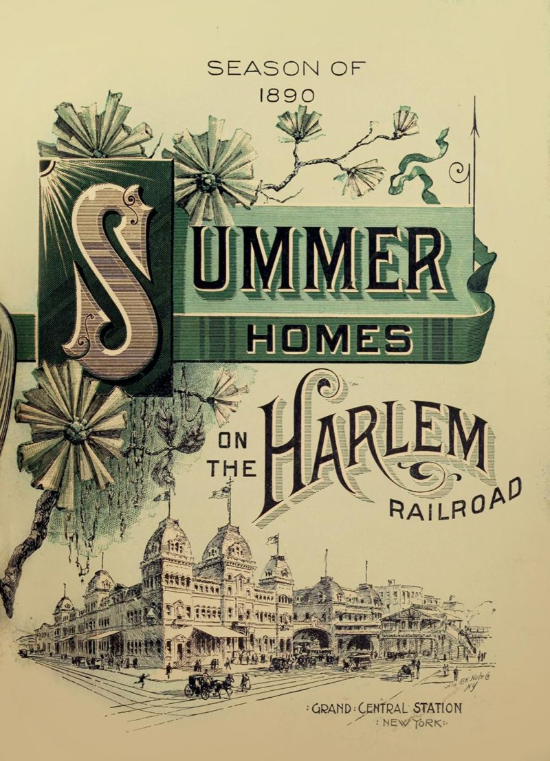 1890's Summer Homes on the Harlem Railroad booklet