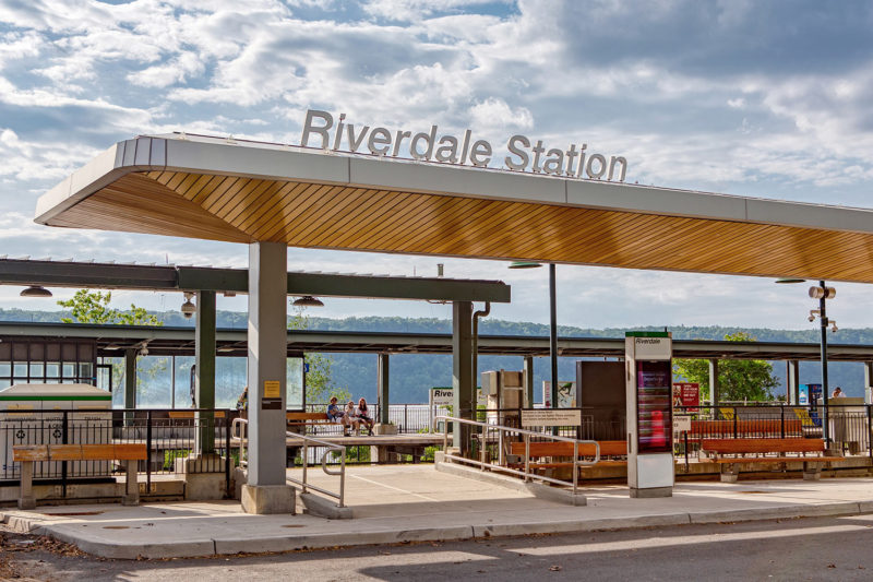 Riverdale station in the Bronx