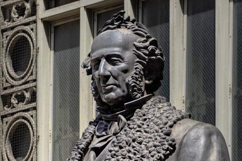 Closeup of Cornelius Vanderbilt