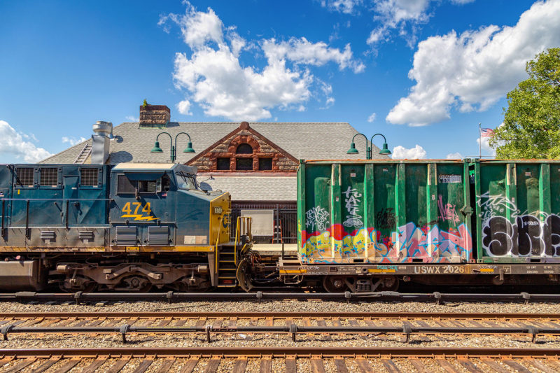 CSX is finally able to resume service on Monday afternoon after the storm