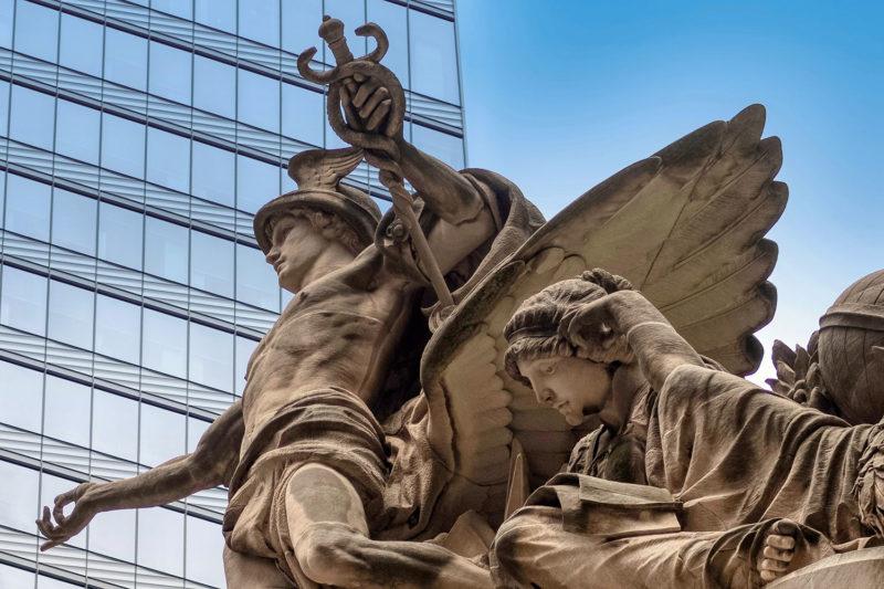 Mercury and Minerva