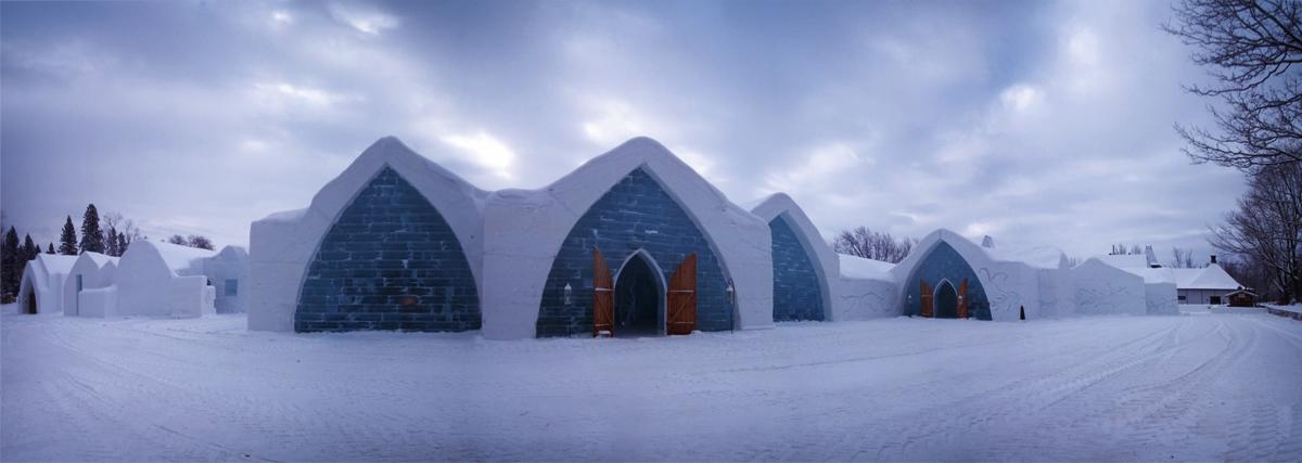 a visit to the h tel de glace quebec i ride the harlem line. Black Bedroom Furniture Sets. Home Design Ideas