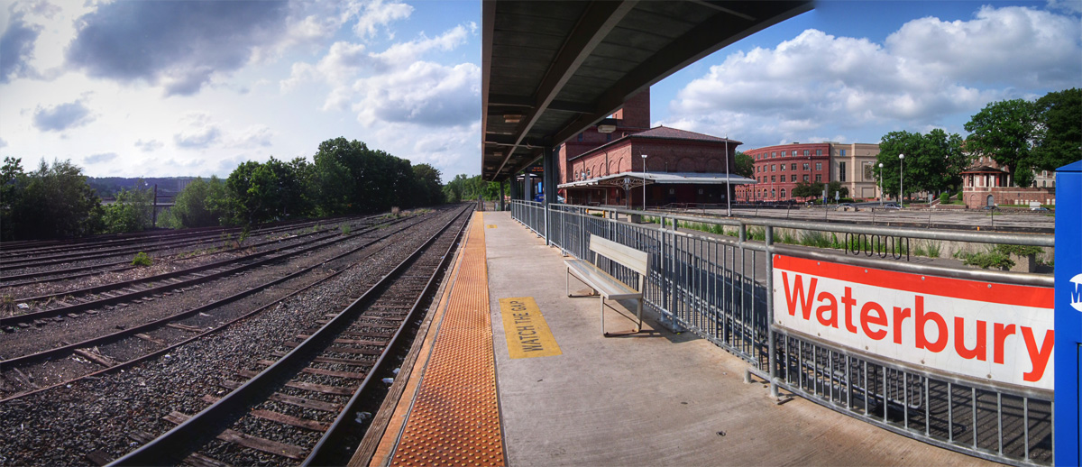 Tuesday tour of the new haven line waterbury i ride for The waterbury