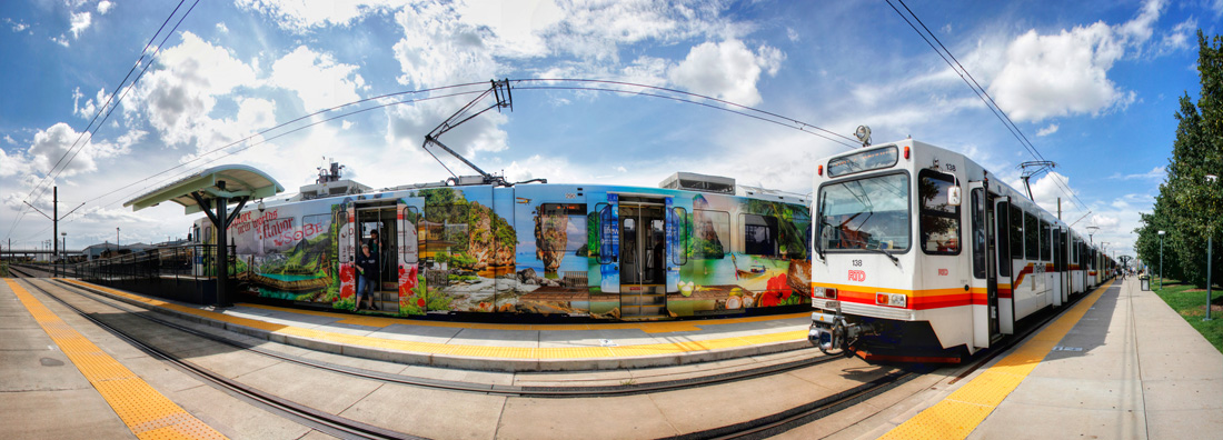 Taking a ride on Denver's Light Rail, Part 1 – I Ride The