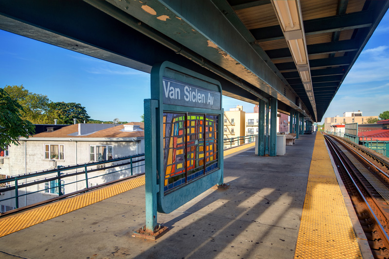Arts For Transit In Brooklyn Exploring The J Line I