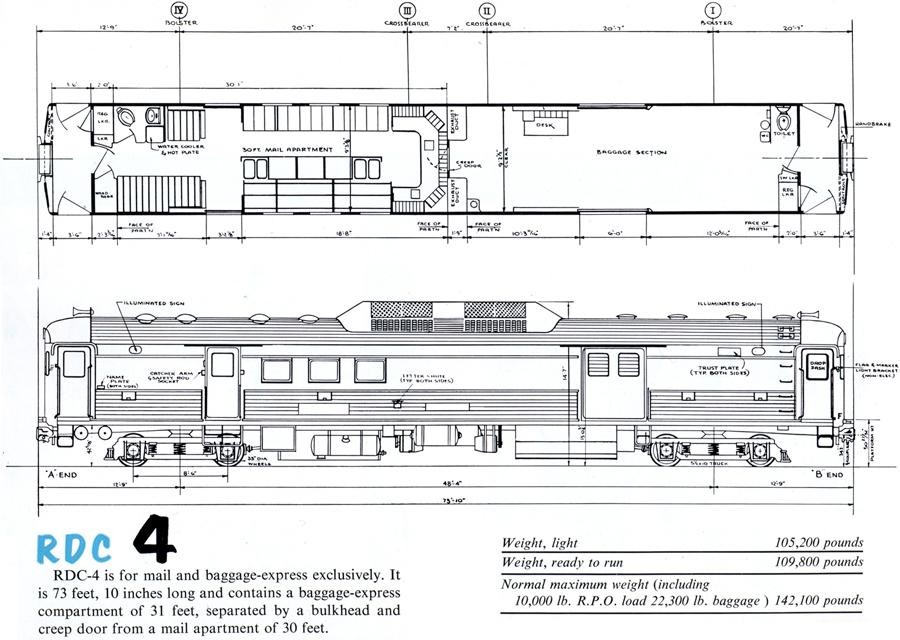 the budd rail diesel car and more art from leslie ragan i ride rh iridetheharlemline com vox night train schematics lionel train schematics