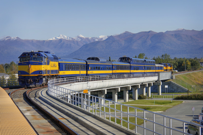 Rare mileage on the alaska railroad the palmer airport for Ted s fishing station